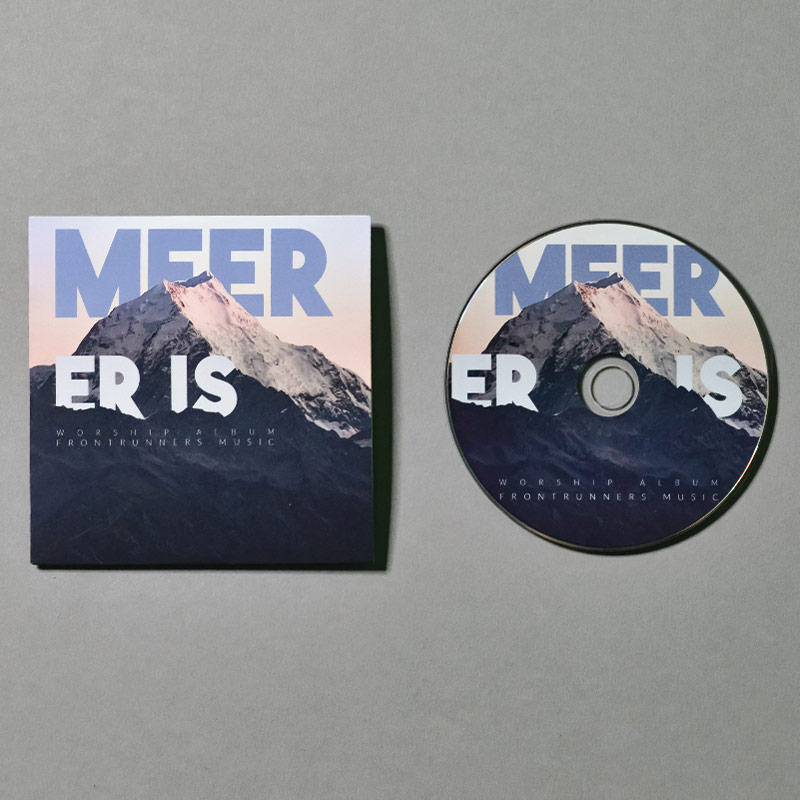 frontrunnersministries.nl - shop - product - Worship CD Er Is Meer - Afbeelding